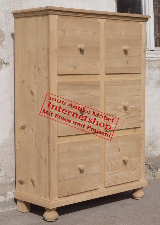 apothekerkommode schubladenschrank kommode schubladenkommode antik m bel antiquit ten alling. Black Bedroom Furniture Sets. Home Design Ideas