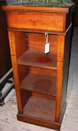 Bücherregal Kirsche englisches regal kirsche furniert antik möbel antiquitäten alling