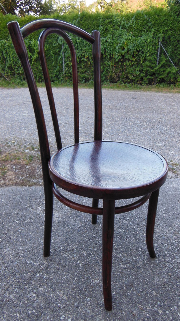 stuhl weidenholz in der art eines thonet antik m bel antiquit ten alling bei m nchen zwischen. Black Bedroom Furniture Sets. Home Design Ideas