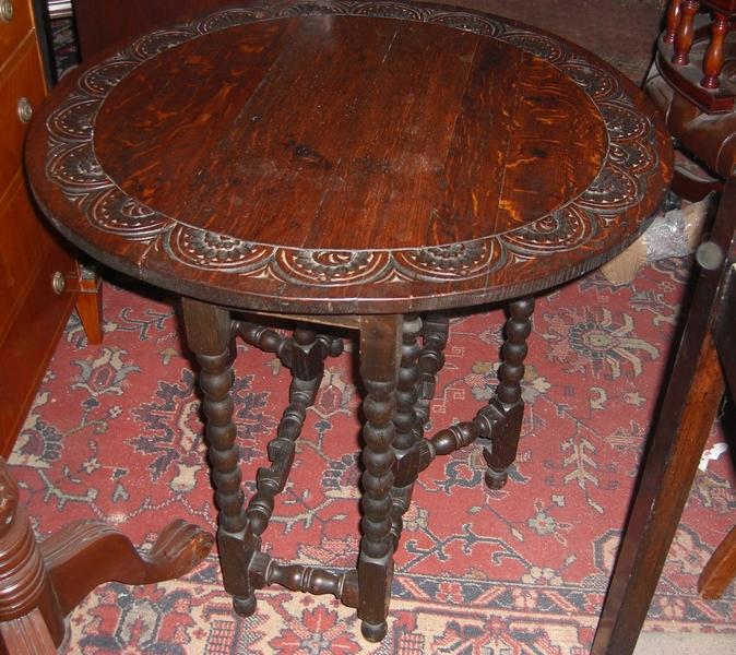 Gateleg Tisch.Antiker Englischer Gateleg Tisch Eiche