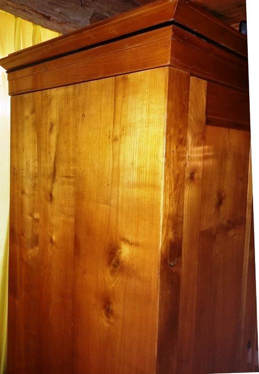 orginaler biedermeier kirschholz schrank um 1840 antik m bel antiquit ten alling bei m nchen. Black Bedroom Furniture Sets. Home Design Ideas