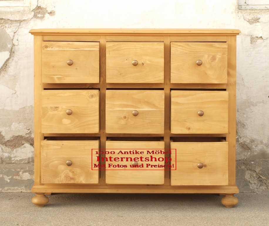 apothekerkommode schubladenkommode kommode antik m bel. Black Bedroom Furniture Sets. Home Design Ideas