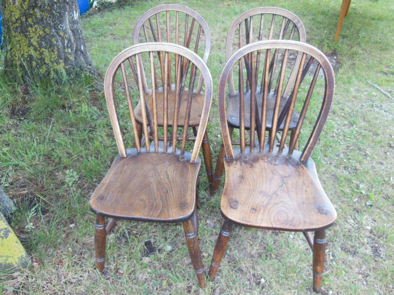 4 Er Satz Windsor Stühle Englische Küchenstühle .