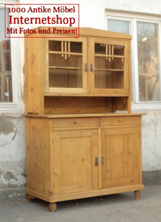 altes antikes k chenbuffet buffet b fett antik m bel. Black Bedroom Furniture Sets. Home Design Ideas