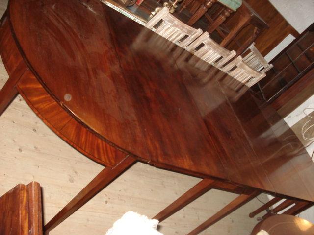 antiker englischer regency esstisch mahagoni um 1830 massiv, Esstisch ideennn