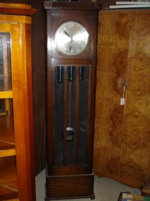 englische standuhr westminster big ben schlag um 1900 jugendstil uhr antik m bel antiquit ten. Black Bedroom Furniture Sets. Home Design Ideas