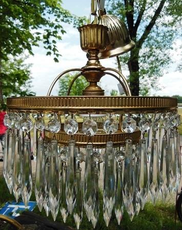 glaskristall lampe 30er jahre antik m bel antiquit ten alling bei m nchen zwischen m nchen. Black Bedroom Furniture Sets. Home Design Ideas