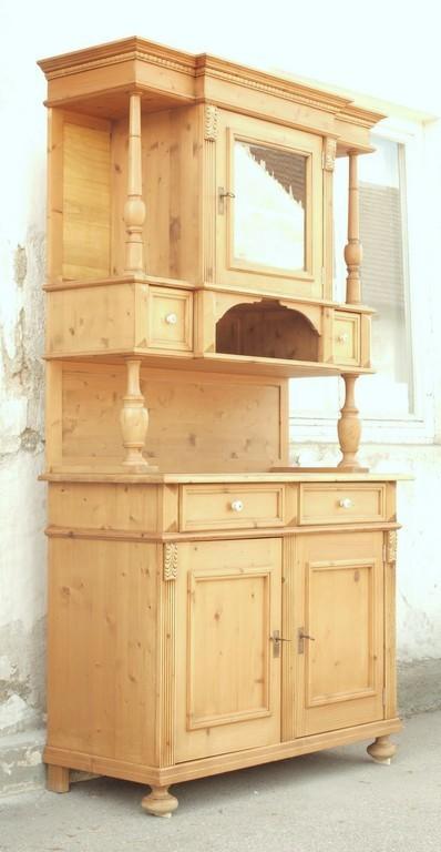 altes antikes kredenz buffet bauernm bel bauernbuffet. Black Bedroom Furniture Sets. Home Design Ideas