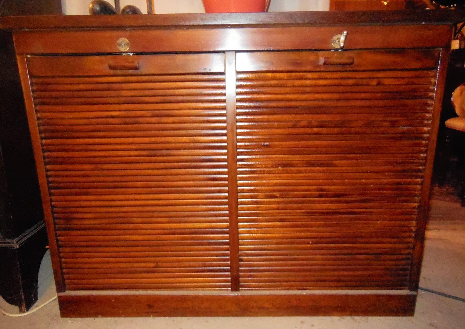 englischer rollschrank um 1920 antik m bel antiquit ten alling bei m nchen zwischen m nchen. Black Bedroom Furniture Sets. Home Design Ideas