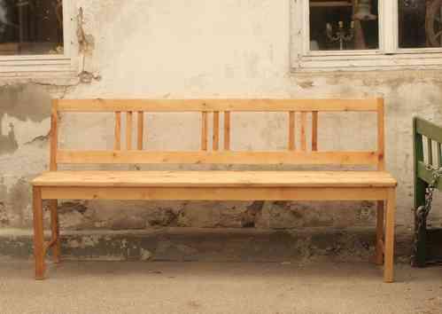 holzbank 2 m holzbank garten rustikal gartenbank. Black Bedroom Furniture Sets. Home Design Ideas