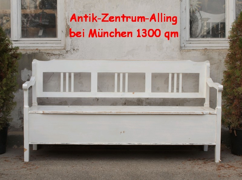 shabby chic truhen bauernbank antik massivholz fichte antik m bel antiquit ten alling bei. Black Bedroom Furniture Sets. Home Design Ideas
