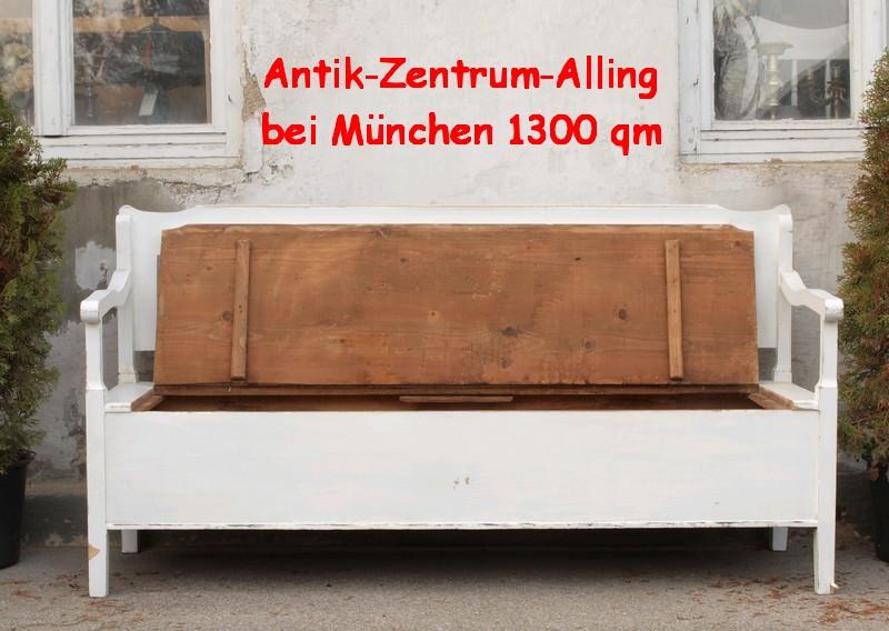 shabby chic truhen bauernbank antik massivholz fichte antik m bel antiquit ten alling bei. Black Bedroom Furniture Sets. Home Design Ideas