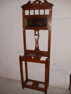 englische jugendstil eichengarderobe um 1910 antik m bel antiquit ten alling bei m nchen. Black Bedroom Furniture Sets. Home Design Ideas
