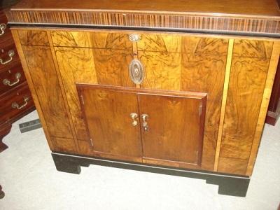 art deco bar englisch um 1925 antik m bel antiquit ten alling bei m nchen zwischen m nchen. Black Bedroom Furniture Sets. Home Design Ideas