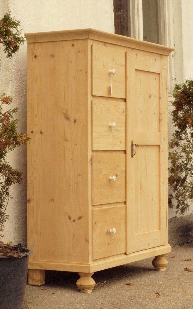 alter antiker brotschrank k chenschrank anrichte fichte. Black Bedroom Furniture Sets. Home Design Ideas