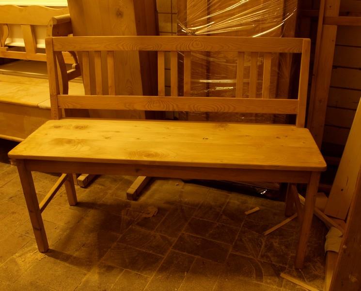 120 cm holzbank sitzbank antik m bel antiquit ten alling. Black Bedroom Furniture Sets. Home Design Ideas