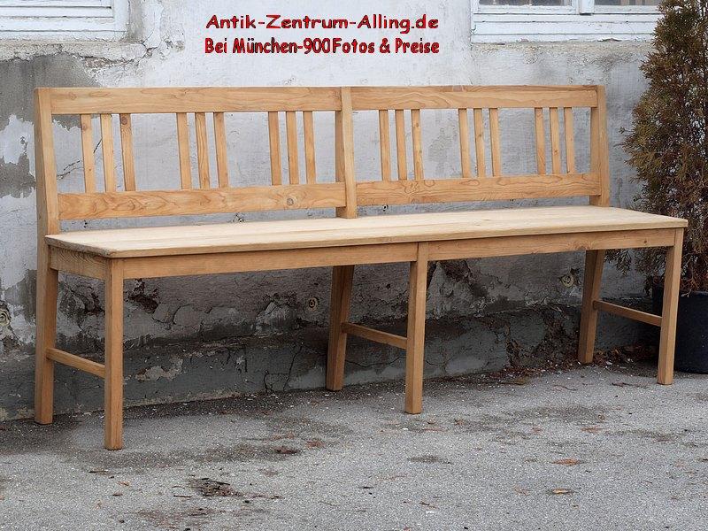 holzbank sitzbank 200 cm antik m bel antiquit ten alling bei m nchen zwischen m nchen. Black Bedroom Furniture Sets. Home Design Ideas