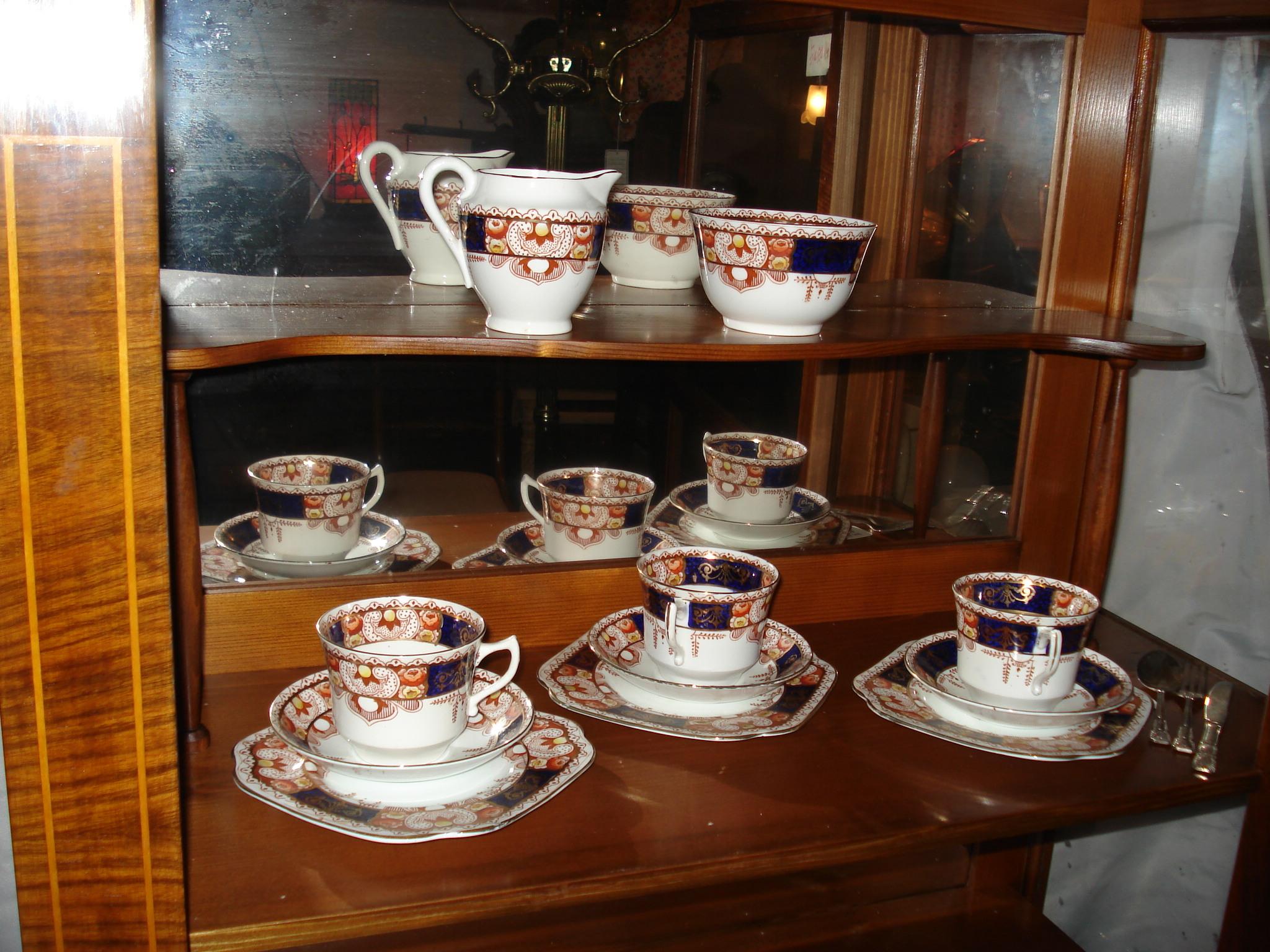 englisches victorianisches kaffee service um 1890 antik m bel antiquit ten alling bei m nchen. Black Bedroom Furniture Sets. Home Design Ideas