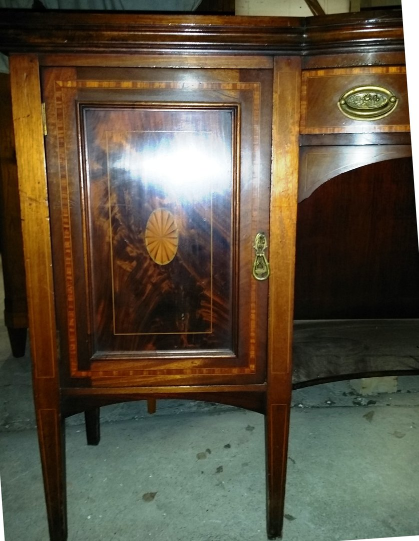 mahagoni sideboard edwardian um 1900 jugendstil ein hnliches ist noch im bestand bitte. Black Bedroom Furniture Sets. Home Design Ideas