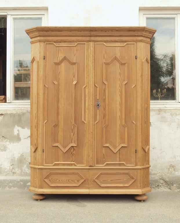 barockschrank bauernschrank antik kleiderschrank schrank massive fichte antik m bel. Black Bedroom Furniture Sets. Home Design Ideas
