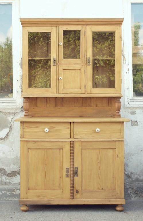 antik k chenschrank anrichte buffet buffet fichte antik. Black Bedroom Furniture Sets. Home Design Ideas
