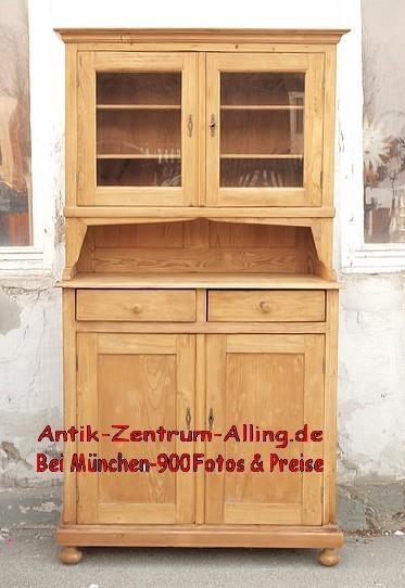 Anrichte Antik Küchenschrank Buffet Büfett 01 - Antik Möbel ...