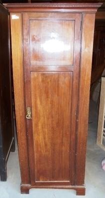 Kleiner mahagoni wardrobe kleiderschrank um 1900 antik - Begehbarer kleiderschrank englisch ...