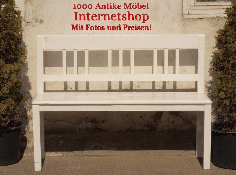 120 cm gartenbank bauernbank fichtenbank shabby chick sitzbank holzbank antik m bel. Black Bedroom Furniture Sets. Home Design Ideas
