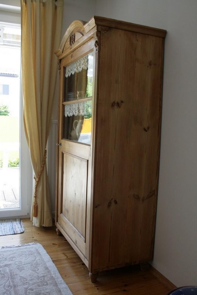 bauernvitrine antik m bel antiquit ten alling bei. Black Bedroom Furniture Sets. Home Design Ideas