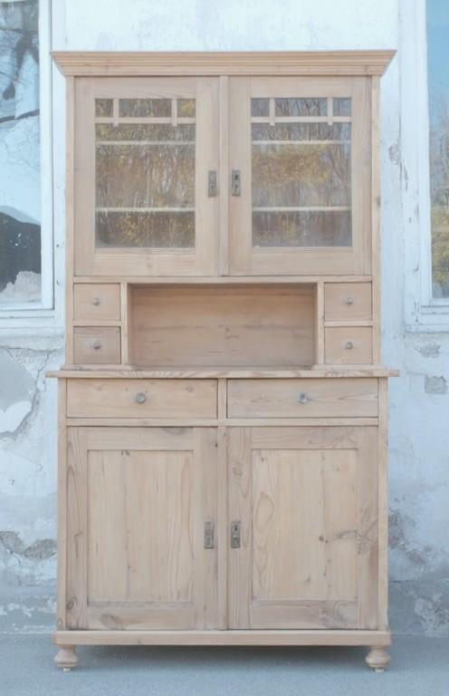 altes antikes k chenbuffet k chenschrank bauernb fett. Black Bedroom Furniture Sets. Home Design Ideas