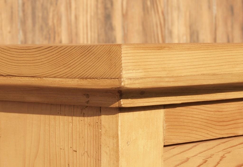 kleines schmales vertiko k chenschrank weichholzm bel. Black Bedroom Furniture Sets. Home Design Ideas