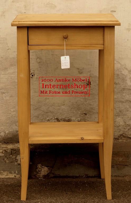 kleiner tisch mit schublade massive fichte antik m bel. Black Bedroom Furniture Sets. Home Design Ideas