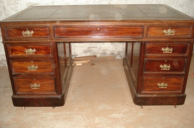 original victorian schreibtisch mahagoni um 1870 80 antik m bel antiquit ten alling bei. Black Bedroom Furniture Sets. Home Design Ideas