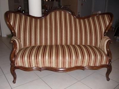Antike möbel couch  Originale Biedermeier Louis-Phillippe Couch restauriert um 1860/70 ...