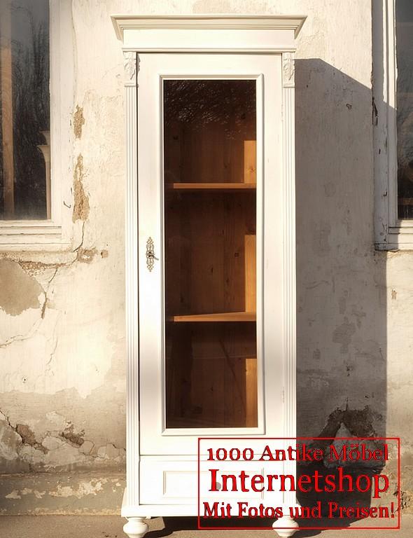 shabby chic vitrine bauernvitrine antik m bel antiquit ten alling bei m nchen zwischen m nchen. Black Bedroom Furniture Sets. Home Design Ideas