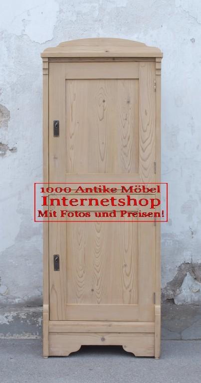 Kleiner schmaler antiker bauernschrank weichholz for Kleiner schmaler sessel