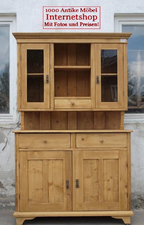 Altes antikes küchenbuffet küchenschrank - Antik Möbel Antiquitäten ...