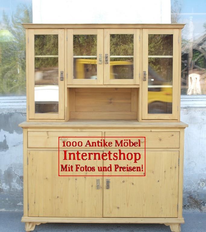 Altes Antikes Küchenbuffet Küchenschrank
