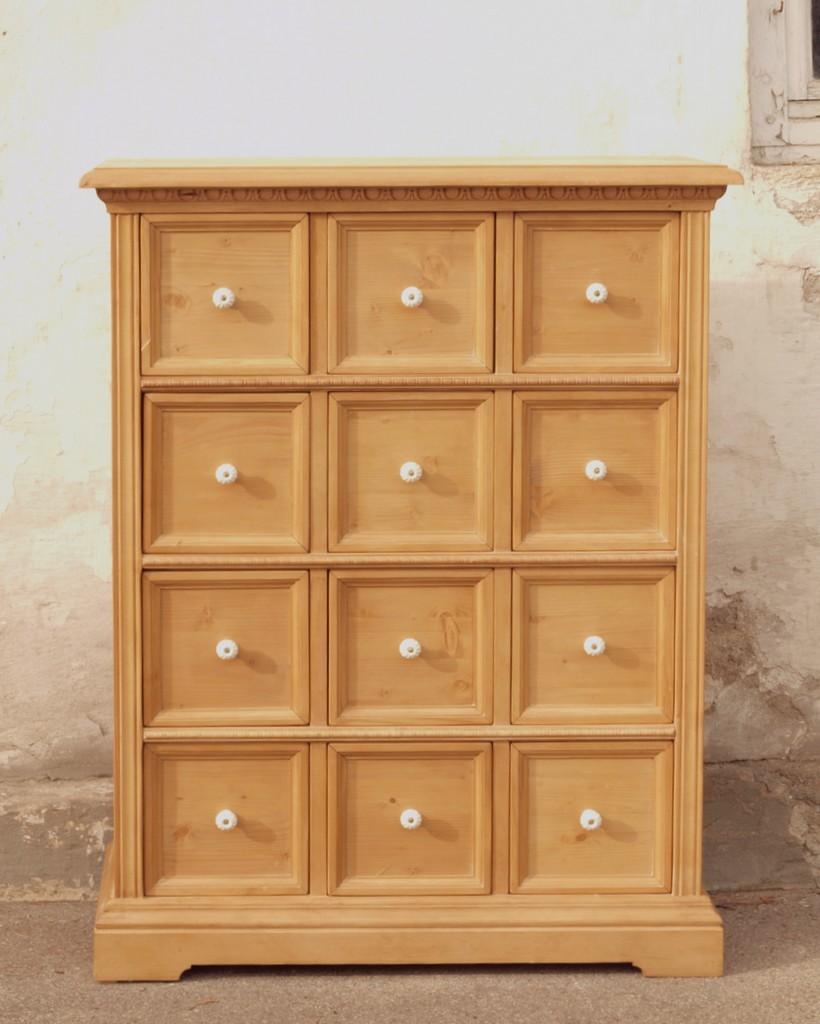 apothekerkommode apothekerkommoden fichten kommode. Black Bedroom Furniture Sets. Home Design Ideas