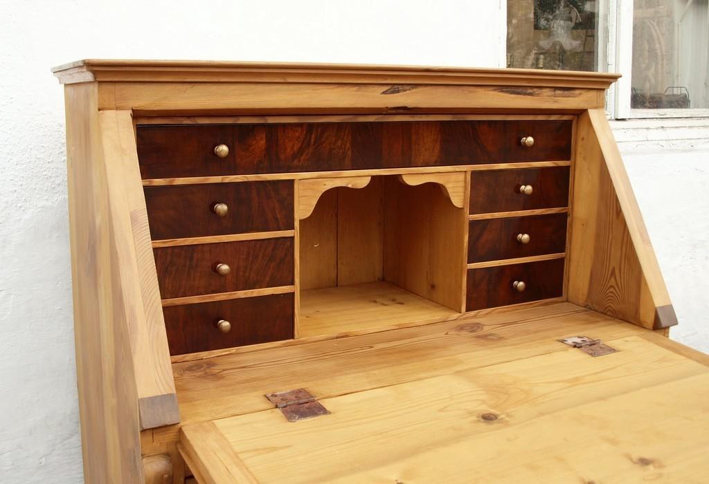 alter antiker restaurierter sekret r bauernm bel. Black Bedroom Furniture Sets. Home Design Ideas