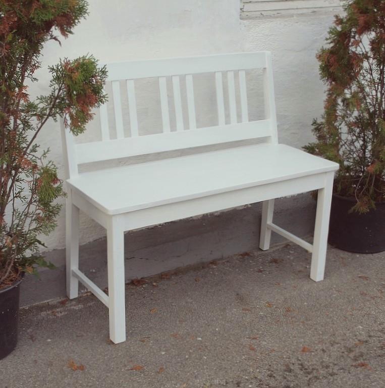 100 cm gartenbank shabby chic massivholzbank bauernbank fichte antik m bel antiquit ten alling. Black Bedroom Furniture Sets. Home Design Ideas