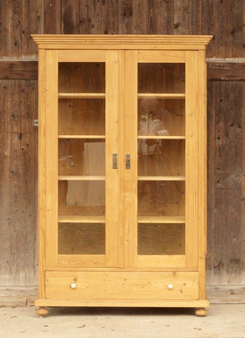 vitrine weichholz fichte glasschrank antik m bel antiquit ten alling bei m nchen zwischen. Black Bedroom Furniture Sets. Home Design Ideas