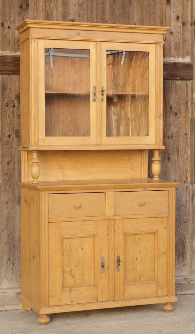 altes antikes b uerliches buffet um1870 massivholz fichte. Black Bedroom Furniture Sets. Home Design Ideas