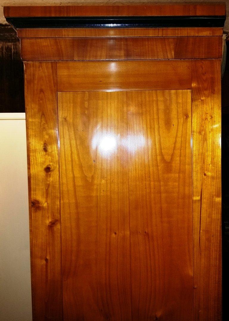 schmaler biedermeier schrank 2 t rig um 1840 antik m bel antiquit ten alling bei m nchen. Black Bedroom Furniture Sets. Home Design Ideas