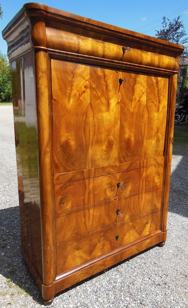deutscher schreibsekret r biedermeier sekret r antik m bel antiquit ten alling bei m nchen. Black Bedroom Furniture Sets. Home Design Ideas