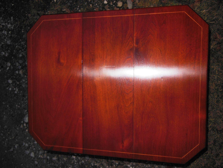 Sutherland Table Mahagoni Couchtisch um 1900 Jugendstil