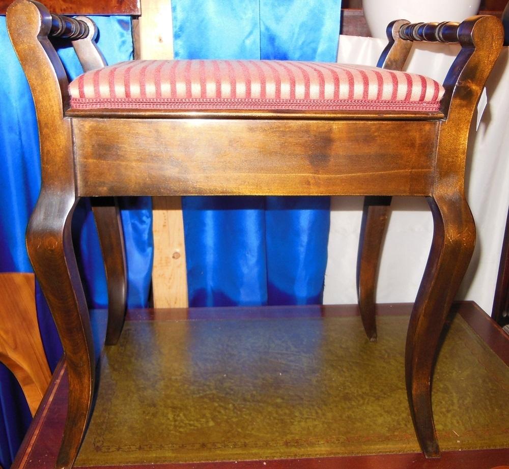 englischer klavierhocker buche um 1910 antik m bel antiquit ten alling bei m nchen zwischen. Black Bedroom Furniture Sets. Home Design Ideas