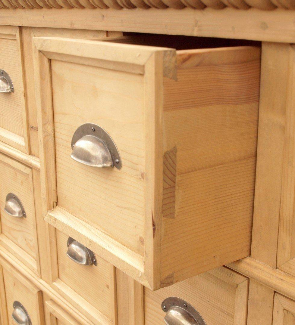 12 schubladen apothekerkommode apothekenkommode. Black Bedroom Furniture Sets. Home Design Ideas