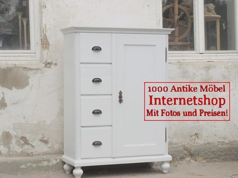 Weiße Antike Möbel weisser shabby chic brotschrank almer küchenschrank