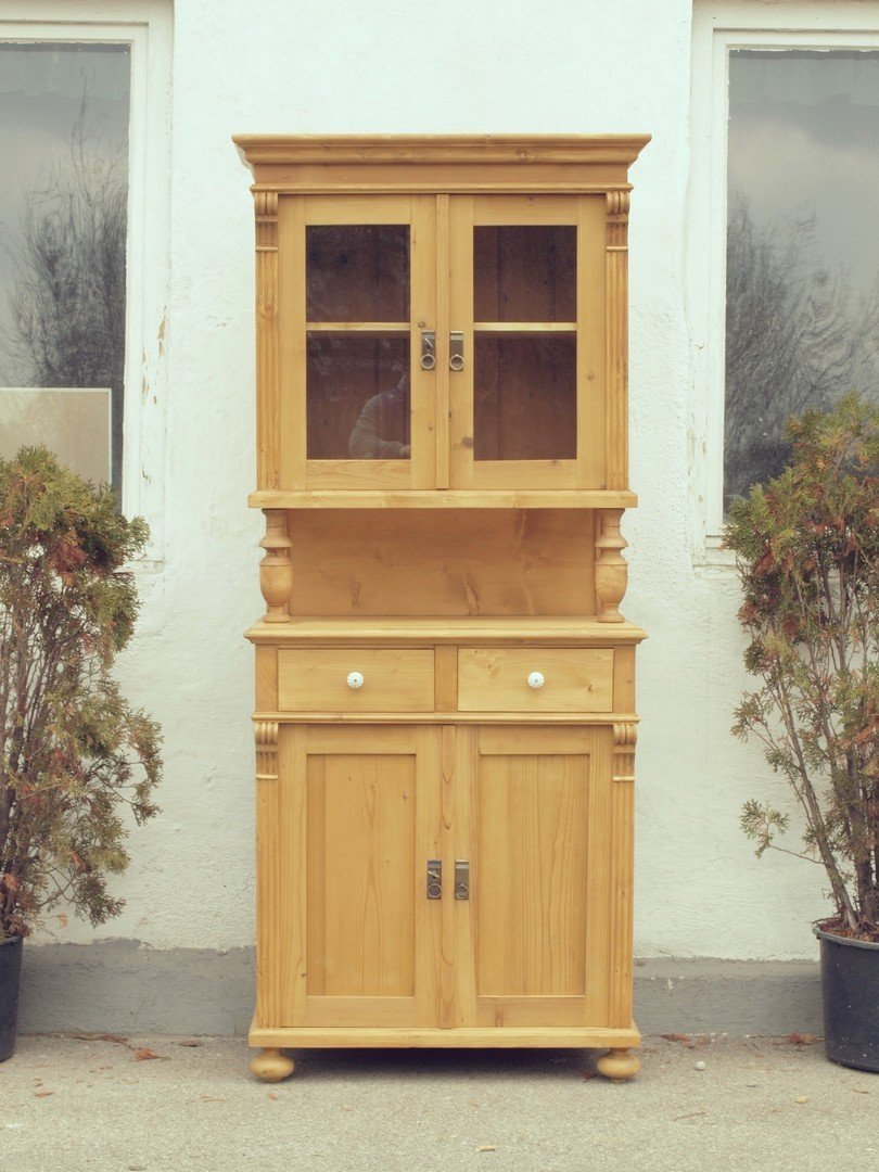 b079 k chenschr nke k chenbuffets schmales k chenbuffet fichtenholzm bel k chenschrankl. Black Bedroom Furniture Sets. Home Design Ideas